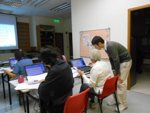 婦女電腦班